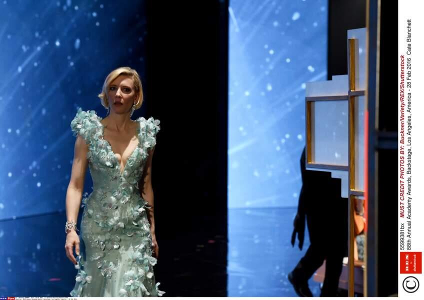 Cate Blanchett était verte de ne pas avoir eu l'Oscar de la meilleure actrice