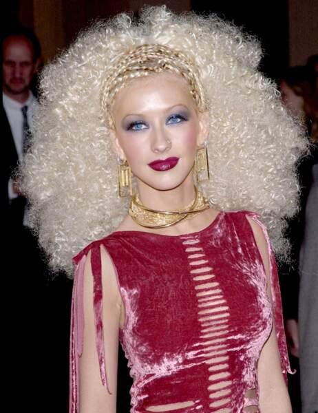 Christina Aguilera se trouve canon. On la trouve gonflante.