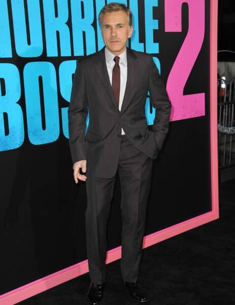 Christoph Waltz prend le pli : il porte lui aussi sa cravate de travers