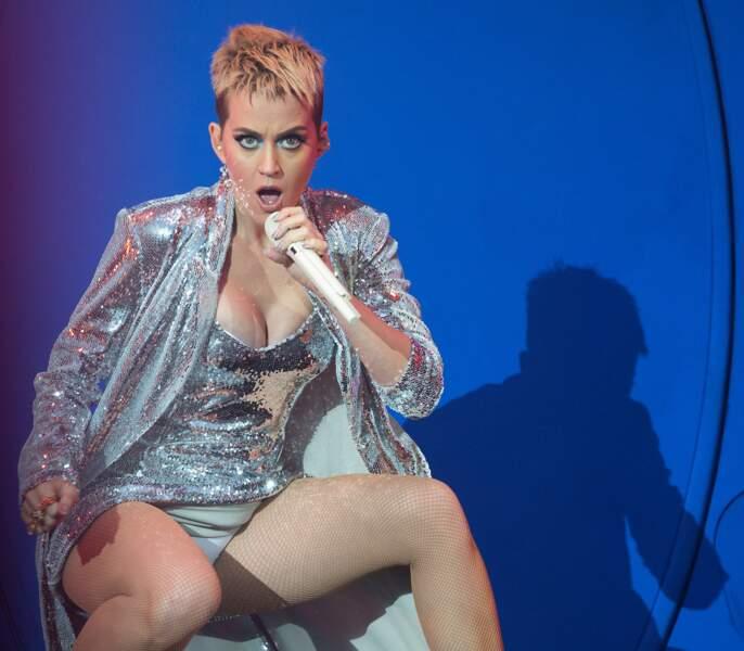 Eh non, Katy Perry a dévoilé ses dessous...