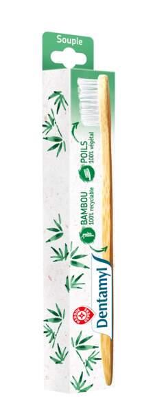 Brosse à dents en Bambou. Marque Repère, 1,99€