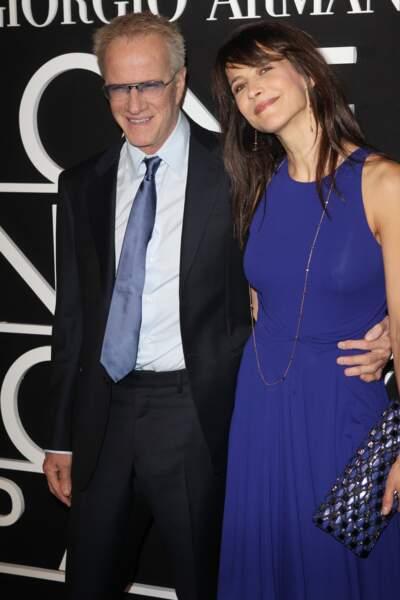 Christophe Lambert et Sophie Marceau en couple de 2007 à 2014