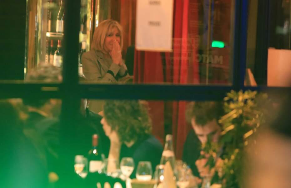 Brigitte Macron était très émue