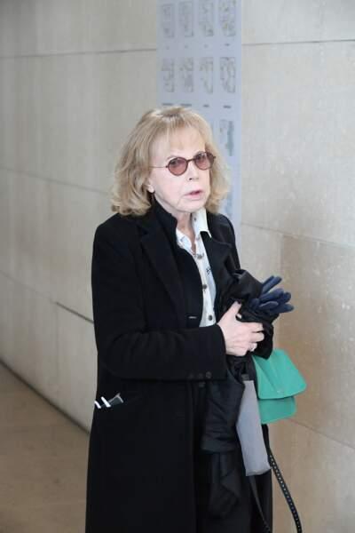 Bulle Ogier à l'hommage à Agnès Varda