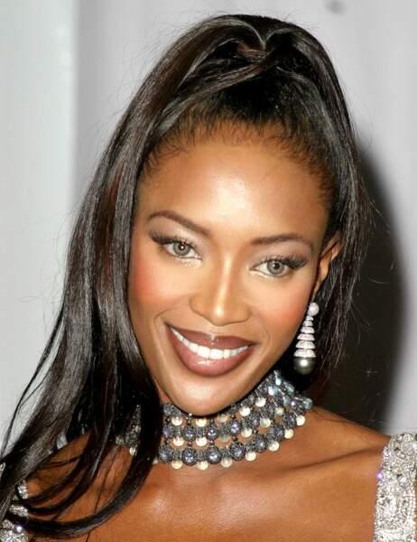 Naomi Campbell en 2003...