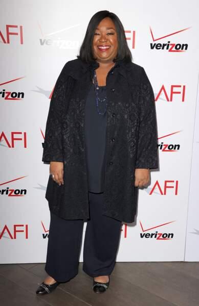 Avant-après ces stars qui ont perdu du poids - Shonda Rhimes (créatrice de Grey's anatomy, Scandal...) avant