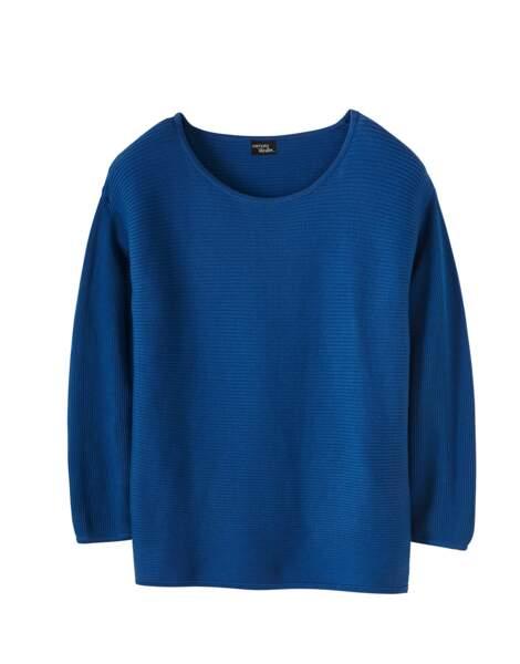 Heidi Klum x Lidl : petit pull bleu