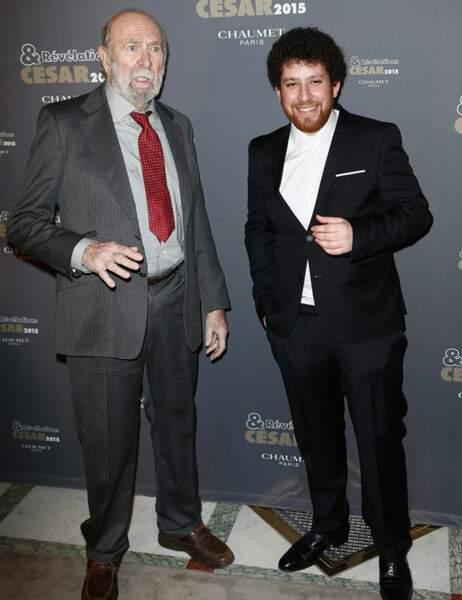 Jean-Pierre Marielle et Thomas Blumenthal