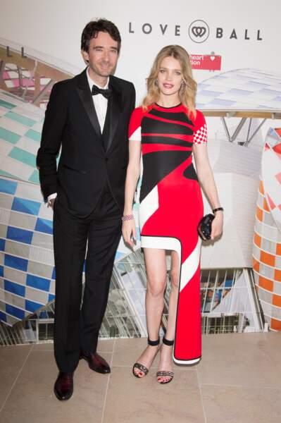 Natalia Vodianova et Antoine Arnault