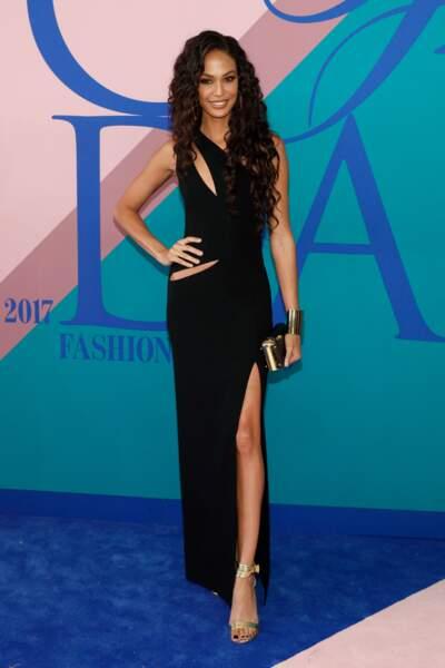 CFDA Fashion Awards 2017 - Joan Smalls directement sortie d'un épisode de Dynastie