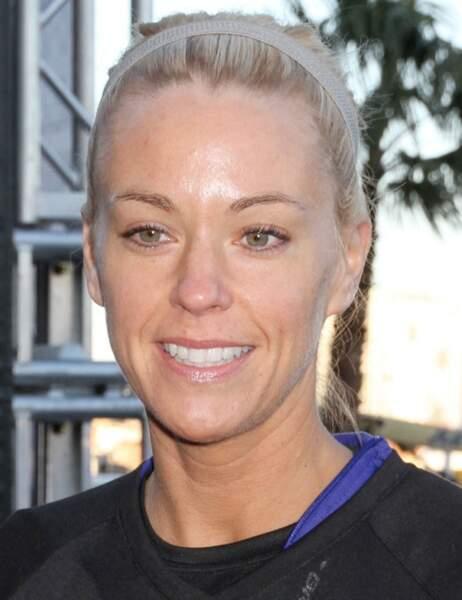 Kate Gosselin en tenue de sport