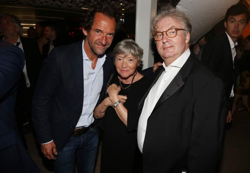 Stéphane de Groodt, Marie-France Brière et Dominique Besnehard