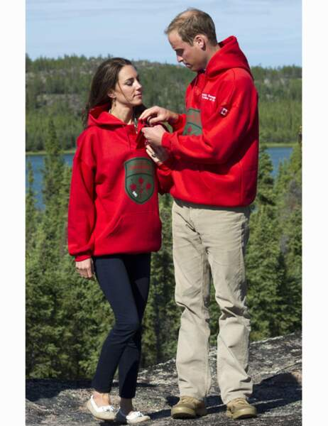 En juillet 2011, au Canada, le duc et la duchesse de Cambridge sont des jeunes mariés heureux