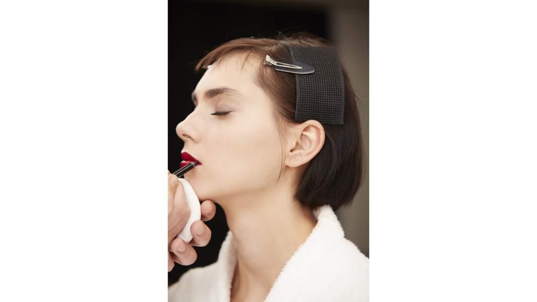 Le rouge dans le noir : collection automne-hiver Givenchy