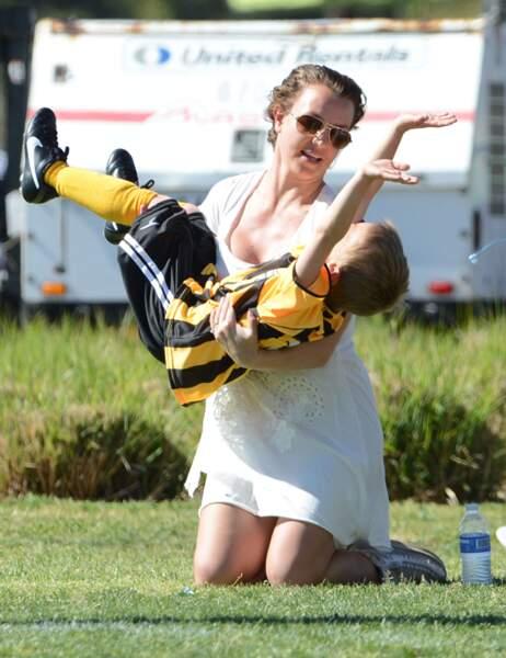 Britney Spears avec son fils