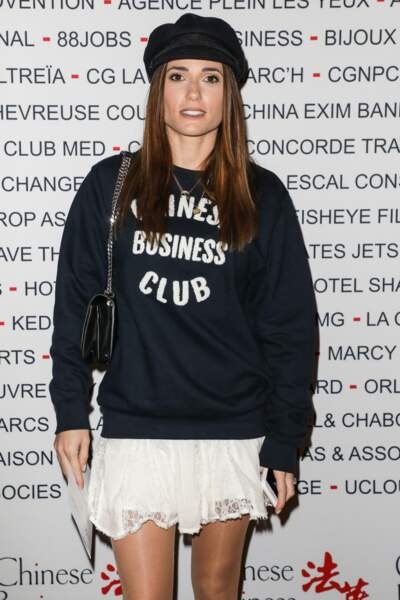 Ce dimanche 7 octobre, Capucine Anav a assisté au déjeuner du Chinese Business Club.