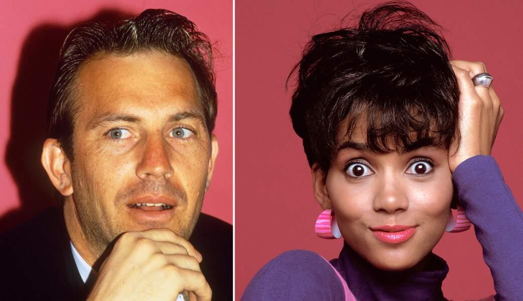 Juin 1989: Kevin Costner, marié, passe une nuit avec Halle Berry, encore inconnue