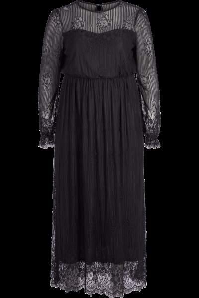 Robe longue en dentelle, Zizzi sur Pampleon, soldée à 83,93 euros