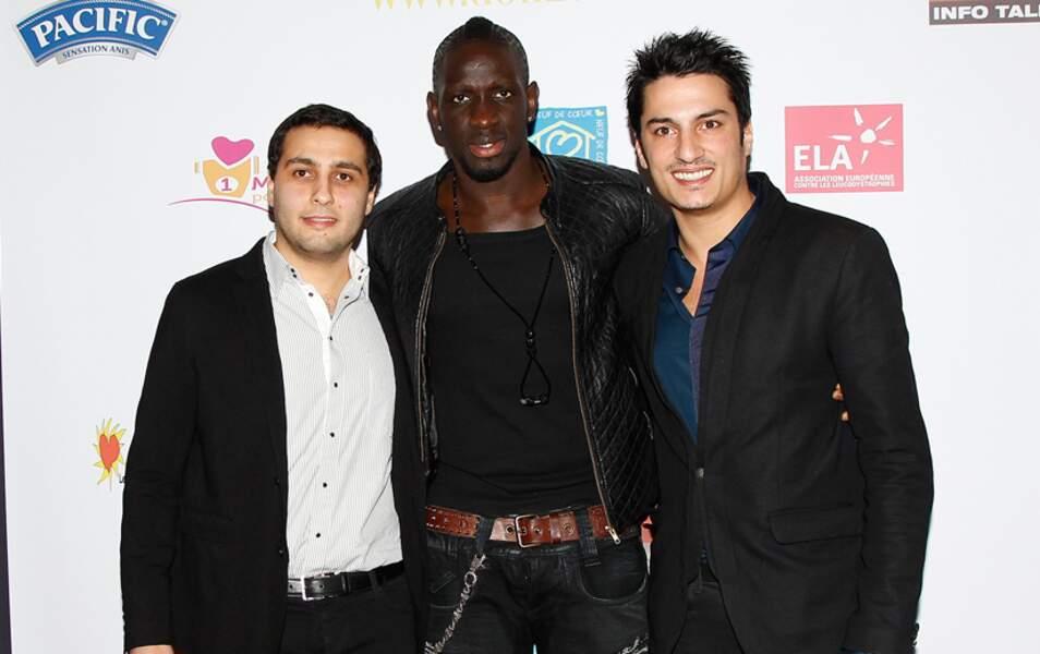Mamadou Sakho et les créateurs du site