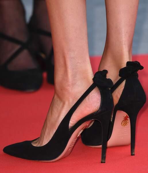 Les chaussures de Meghan Markle sont signées Givenchy.