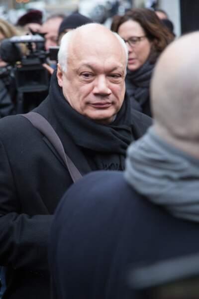 Obsèques de Michel Legrand à Paris : Eric-Emmanuel Schmitt