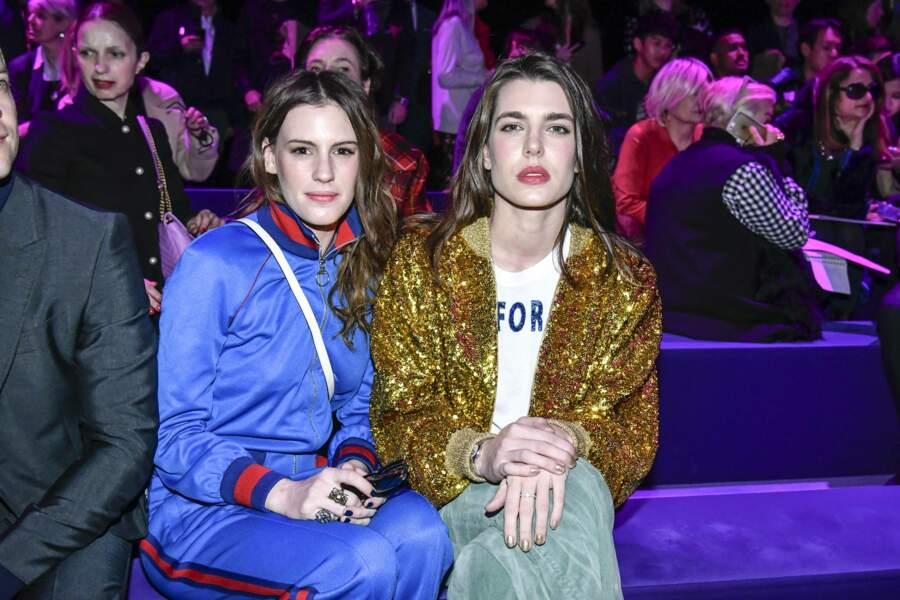 Défilé Gucci : Charlotte Casiraghi