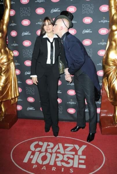 Crazy Show  : l'actrice Monica Bellucci et le photographe iranien Ali Mahdavi