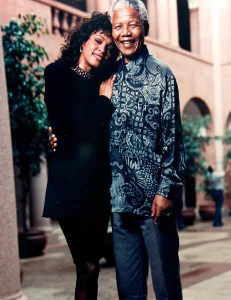 Whitney Houston a eu droit à un câlin