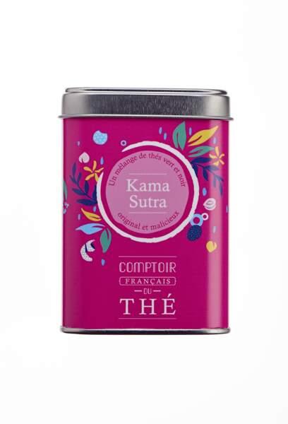 Thé. Kama Sutra, 9€, Comptoir Français du Thé.