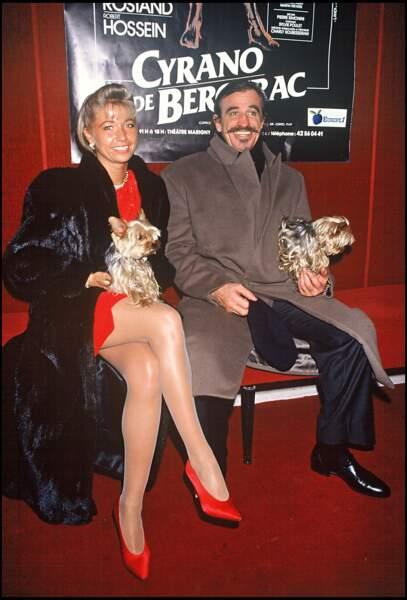 Natty et Jean-Paul Belmondo en couple de 1989 à 2008