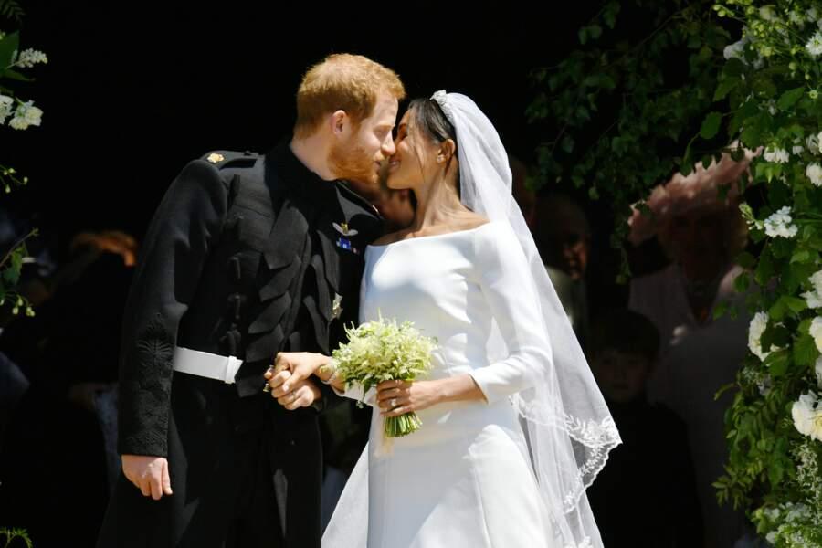 Le baiser du prince Harry et Meghan Markle