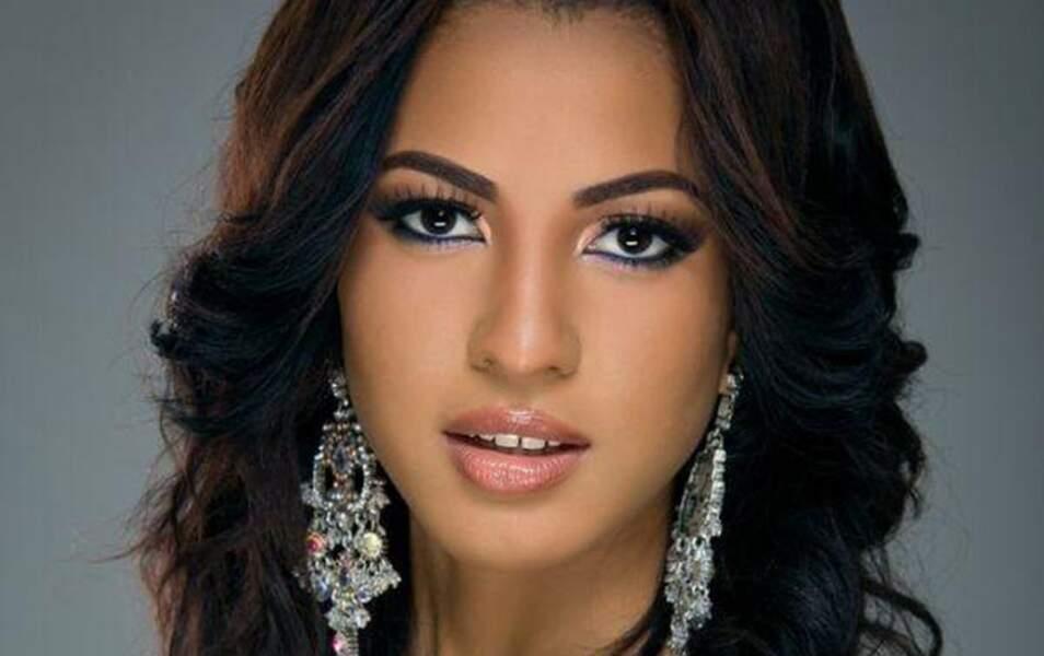 Miss Trinité-et-Tobago Sherrece Villafana, 19 ans, 1m75
