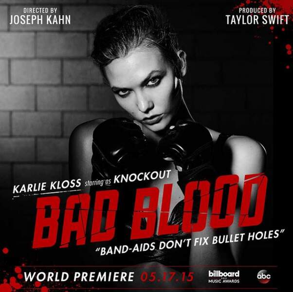 Karlie Kloss, une très grande copine de Taylor Swift