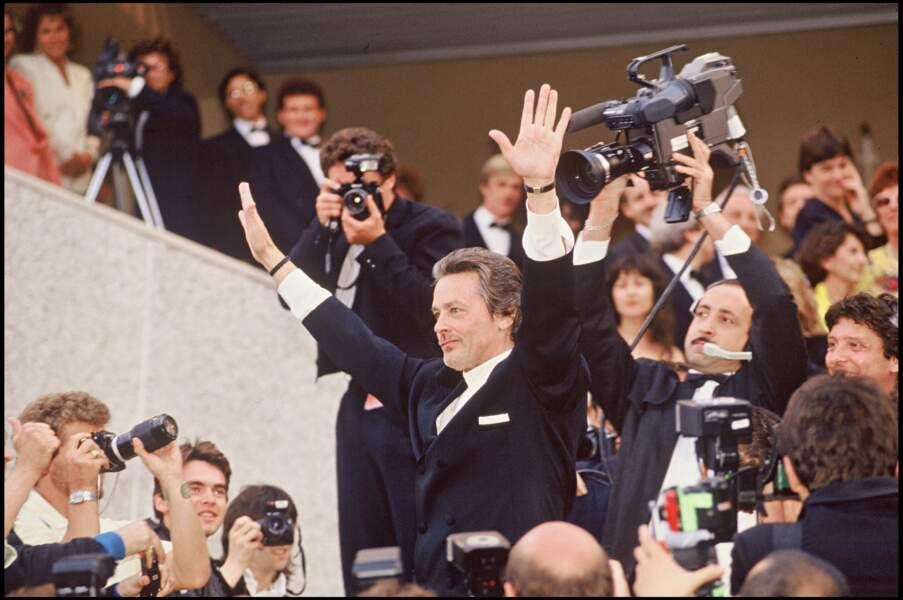 Montée des marches en 1990