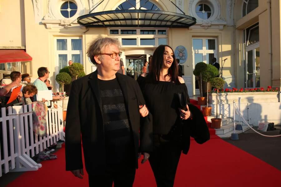 Dominique Besnehard et Béatrice Dalle