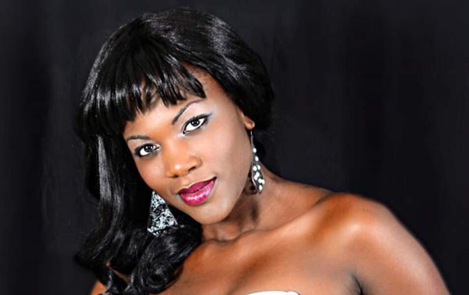 Miss Zambie Christine Mwaaba, 24 ans, 1m75
