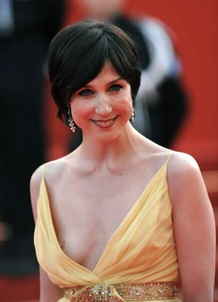 Festival de Cannes, les accidents de tenue les plus sexy - Elsa Zylberstein est habituée aux fails de décolletés