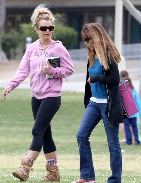Britney Spears et une amie