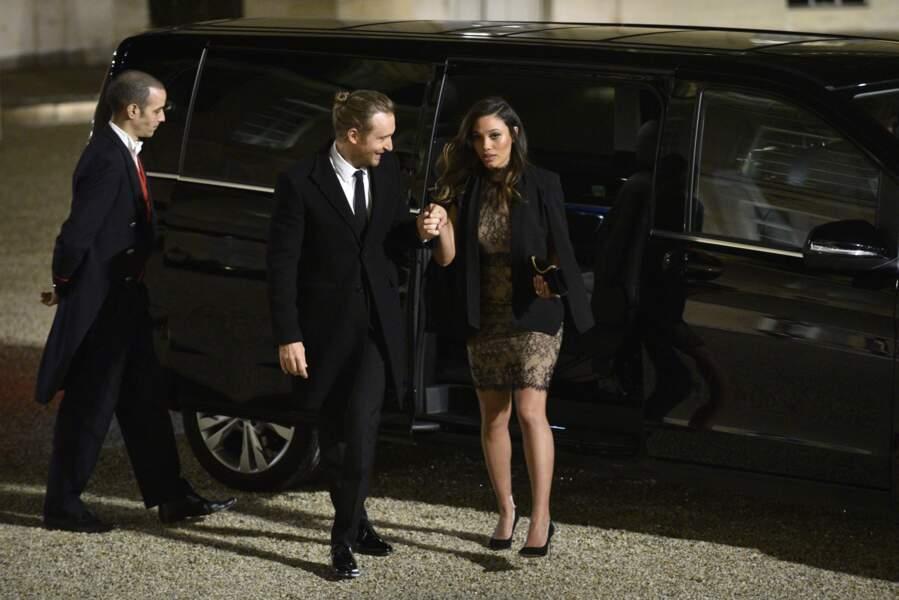 David Guetta n'arrive pas seul à l'Elysée pour le dîner donné en l'honneur de Raul Castro