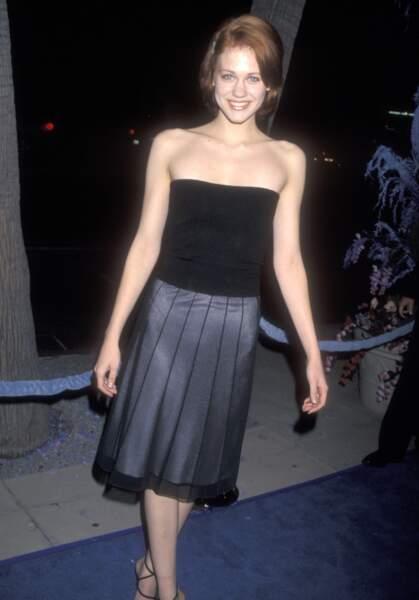 En 1999, Maitland Ward ressemblait à ça. Mais ça c'était avant...