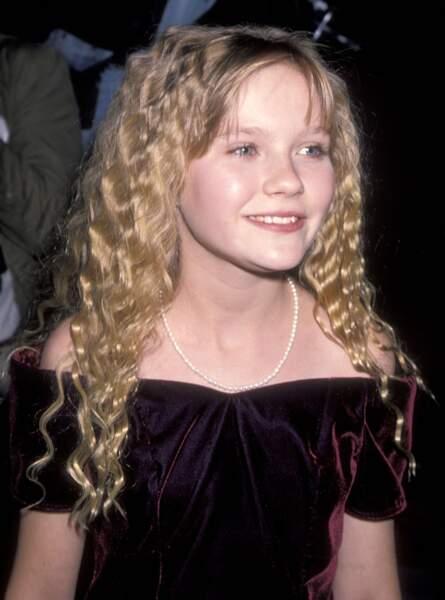 Kirsten Dunst à l'époque du film Entretien avec un vampire