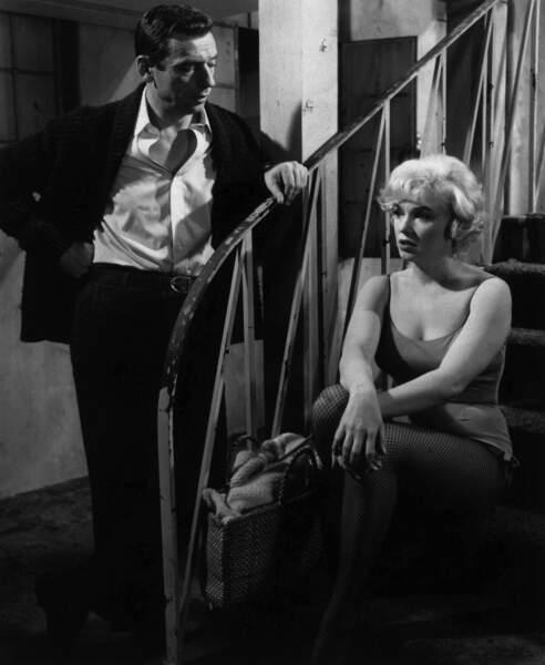 Marilyn Monroe & Yves Montand