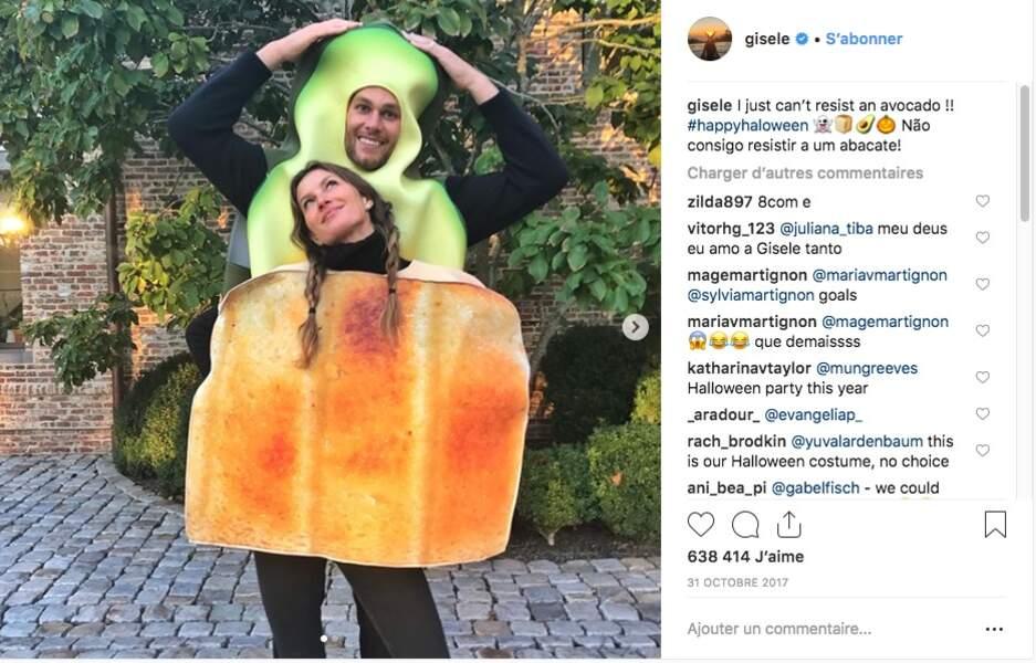 Le meilleur et le pire des costumes d'Halloween des people - Gisele Bündchen