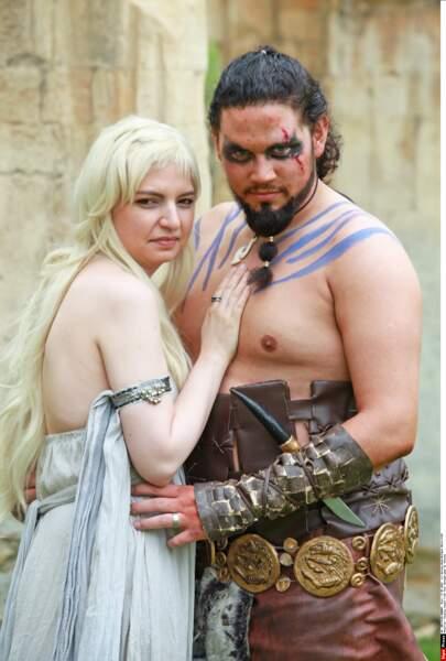 Simon Redstone et Samantha Halstead sont fans de Game of Thrones