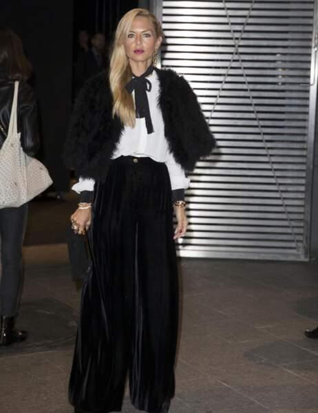 Rachel Zoe avec une tenue de matador