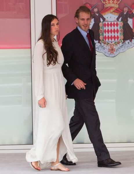 Andrea Casiraghi et son épouse Tatiana Santo Domingo
