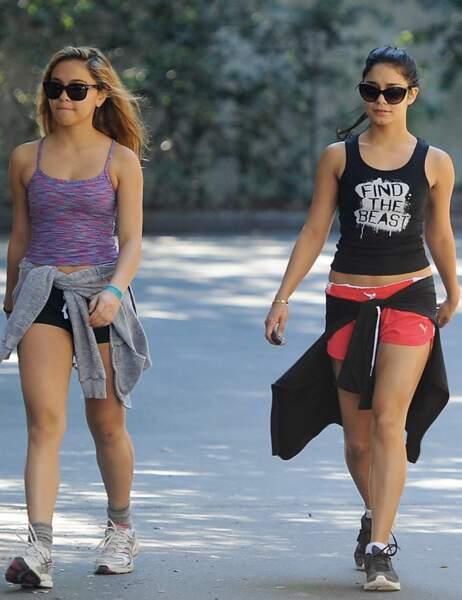 Vanessa Hudgens et sa soeur Stella