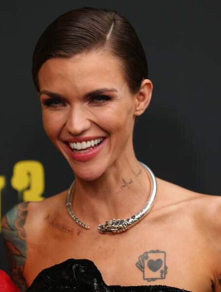 Tatouage: ces stars qui portent un tatouage sur la clavicule - Ruby Rose