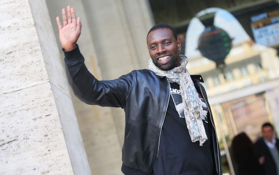 Omar Sy, troisième ex aequo avec un million d'euros