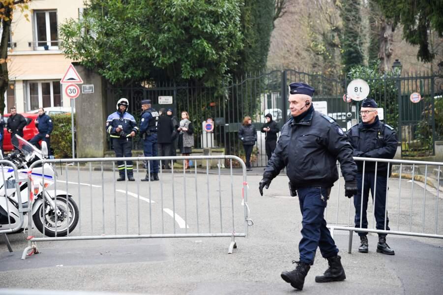 Dispositif de sécurité à Marnes-la-Coquette